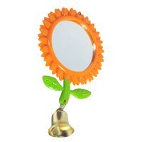Avian Select Springtime Garden Mirror Sunflower Bird Toy