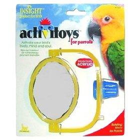 Mirror Bird Toy for Parrots